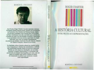 chartier, roger. a história cultural - entre práticas e representações.pdf
