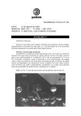 GRADIENTE TV2920  GBT2910 Nao liga Standy by piscando.pdf