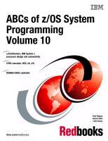 ABCs of zOS System Programming Volume 10.pdf