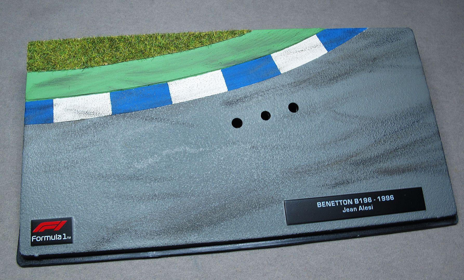 Formula 1 №47 - Benetton B196 - Жан Алези(1996)