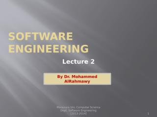 Software engineering-Lecture-2.pptx