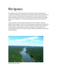 Rio Iguaçu.rtf