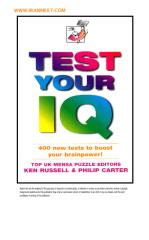 Test Your IQ.pdf