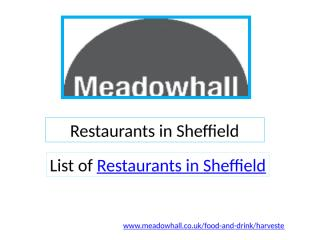 Restaurants in Sheffield.pptx
