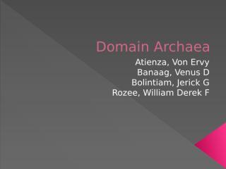 Domain Archaea.pptx