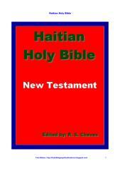 Haitian Holy Bible New Testament PDF.pdf