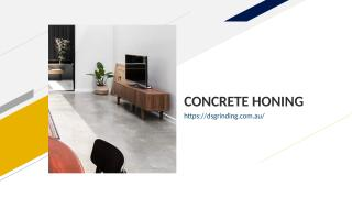 CONCRETE HONING.ppt