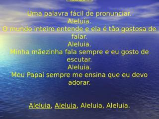 ALELUIA.ppt