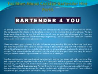 Facilities About Cocktail Bartender Hire Perth (1).pdf