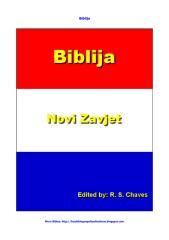 Croatian Holy Bible New Testament- Croata.pdf