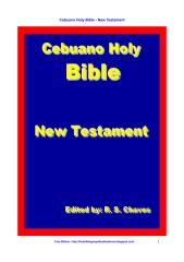 Cebuano Holy Bible New Testament PDF.pdf