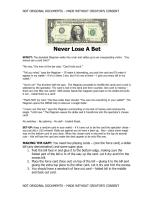 David Kenney - Never Lose A Bet.pdf