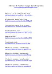 120 vídeos de Filosofia e Teologia.pdf