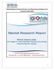 Global Medicine Packing Production Line Market Research Report and Forecast to 2017-2021.pdf