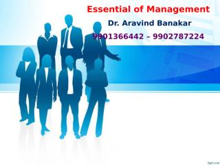 As a boss of Mr Venu Gopal, what steps should have been taken by you to streamline the activities.pptx