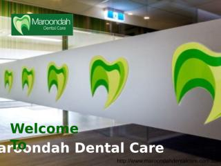 Dentist Croydon _ Maroondah Dental Care .ppt